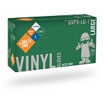 Vinyl - Powder Free Gloves - 100/Box