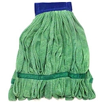 Monarch Microfiber Tube Mop - 18 oz., Green