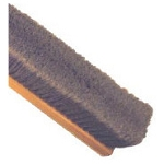 GRAY POLY FINE FLOOR BROOM - WOOD - 24