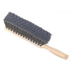 Flagged Gray Plastic Counter Brush - 13''