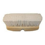Vehicle Wash Brush- 10? Vehicle Block White