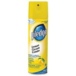 Pledge® Commercial Aerosol - 17.7 oz., Lemon