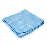 Microfiber Towel 16'' x 16'' Blue, 12 per pack