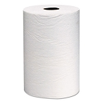 Kimberly-Clark Recycled Nonperforated Hard Roll Paper Towels 800 ft., 1040, White, 12 rolls
