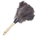 Lambskin Feather Duster Premium Grey Ostrich - 13