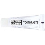 Toothpaste Maximum Security Clear - 144/case