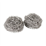 Sponge Stainless Steel - Pot & Pan Scrubber 12/Pack; 6 Pack/Case