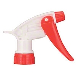 Trigger Sprayer, Red/White, 9-1/2 Inch L Tube