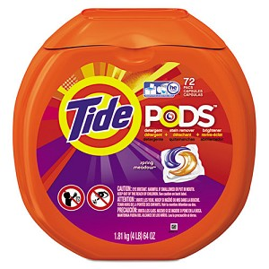 Tide® PODS Spring Meadow HE Laundry Detergent; 72 Pods/Pack
