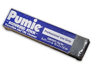 Pumie Scouring Stick - Porcelain & Tile Cleaner