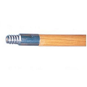 Metal Threaded Wood Handle - 5'