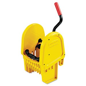 Rubbermaid WaveBrake Yellow Downward Pressure Mop Wringer (7575-88YEL)