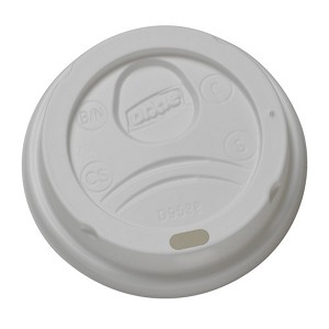 Dome Lids for 8 oz. Hot Cups - 1000 per case